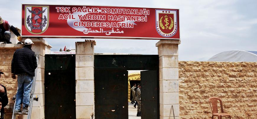TSK'dan Cinderes'de acil yardım hastanesi