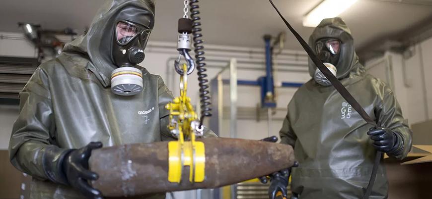Kimyasal silah uzmanları Duma'dan numune topladı