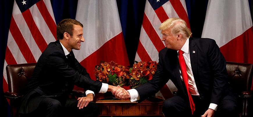 Emmanuel Macron, Trump ile görüşmek için ABD'ye gidiyor