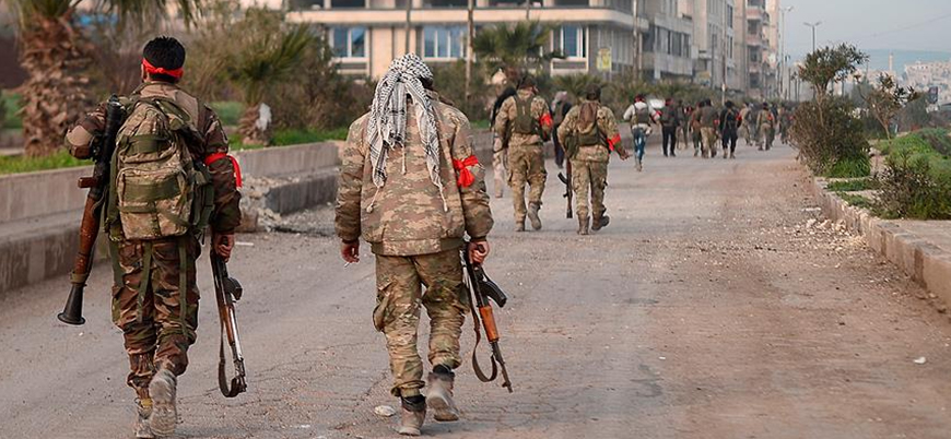 SOHR'dan 'ÖSO Afrin'de evleri yağmalıyor' iddiası