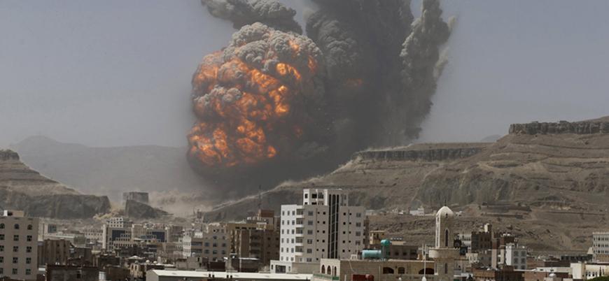 Suudi Arabistan Yemen'de yine sivilleri vurdu: 20'ye yakın ölü var