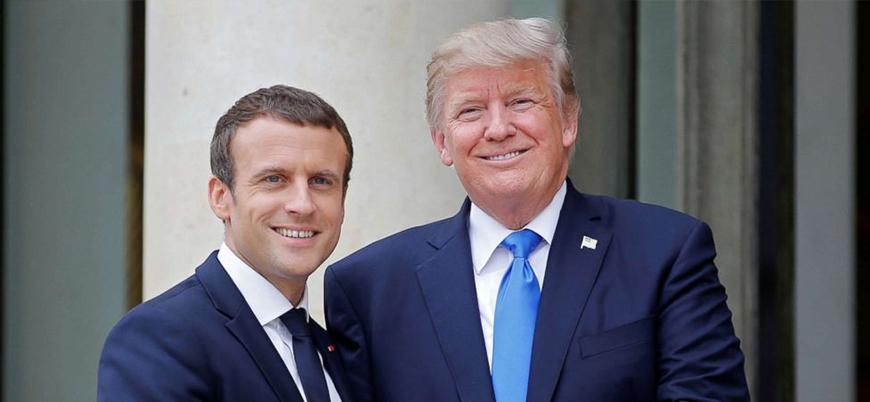 Macron Beyaz Saray'da Trump'ın konuğu