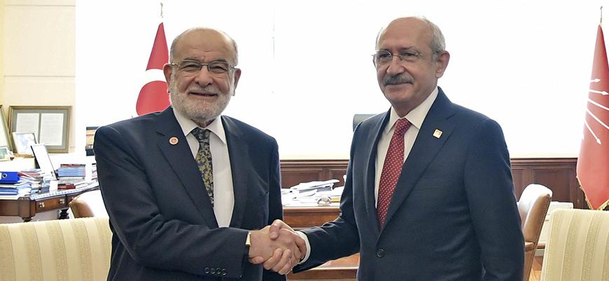 Karamollaoğlu-Kılıçdaroğlu görüşmesinden detaylar