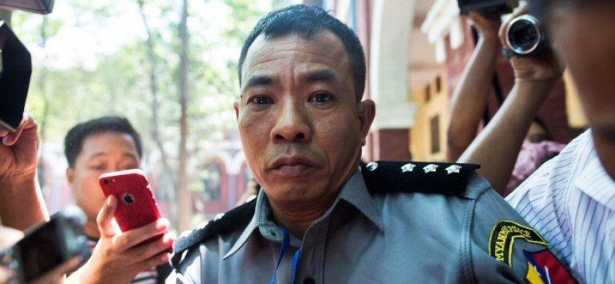 Katliam görüntülerini sızdıran Myanmar polisi serbest kaldı