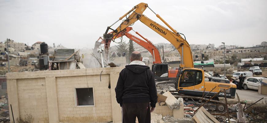 İsrail, Filistinli tutuklunun evini yıktı