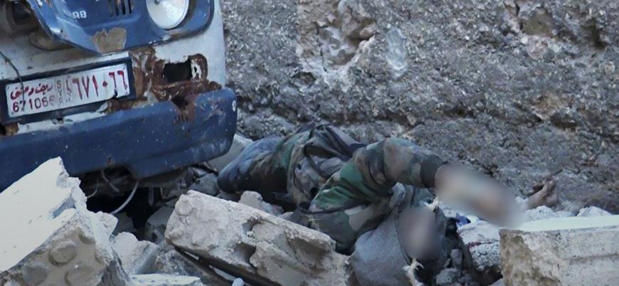 Rejim koalisyonu Şam'ın güneyinde 'kan kaybediyor': 70 ölü