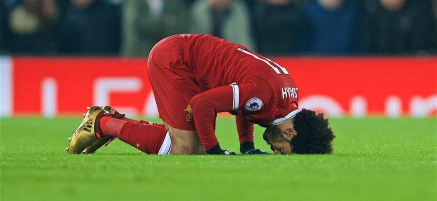 Salah'ın gol sevincini sansürlediler