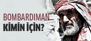 Batı'nın gerçekleştirdiği saldırılar Suriye halkı için değil