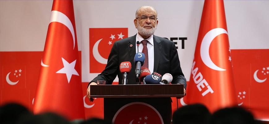 """Saadet Partisi'nin 4 aday önerisi var"""