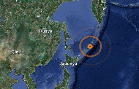 Japonya tsunami tehlikesini atlattı