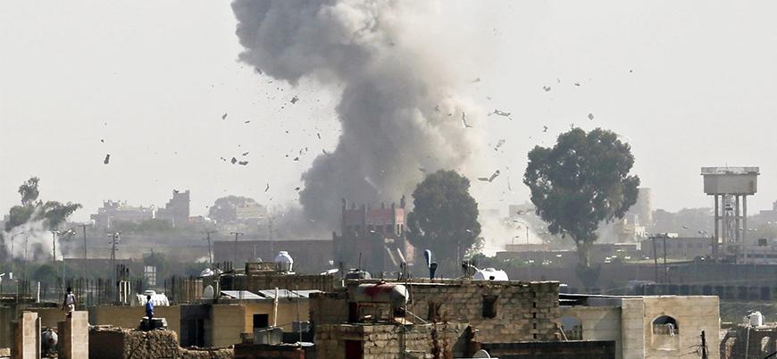 Koalisyon'dan Sana'da Husi hedeflerine hava saldırısı