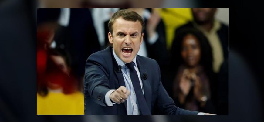 Macron'a kızan işçiler sarayın gazını kesti