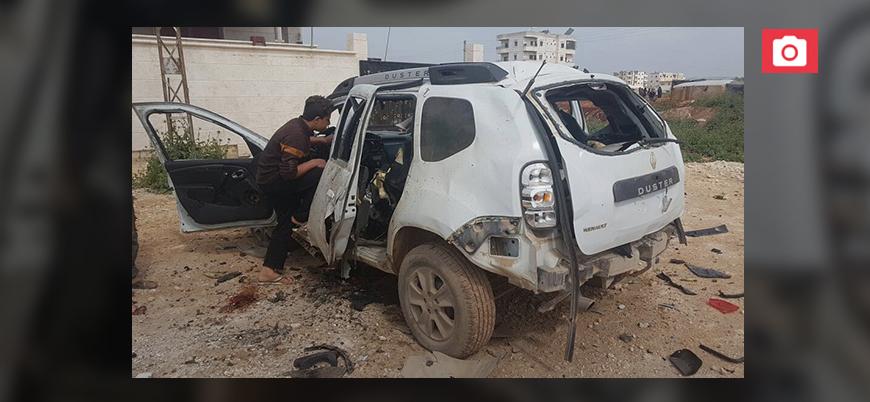 İdlib'de polis şefine bombalı suikast