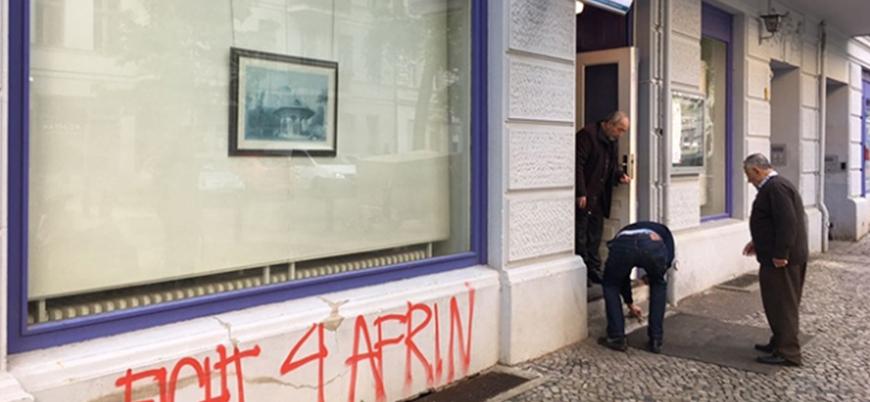 PKK destekçilerinden Berlin'de camiye saldırı