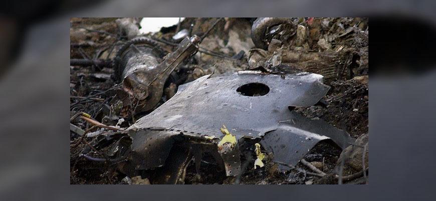Libya'da askeri uçak düştü: 5 ölü
