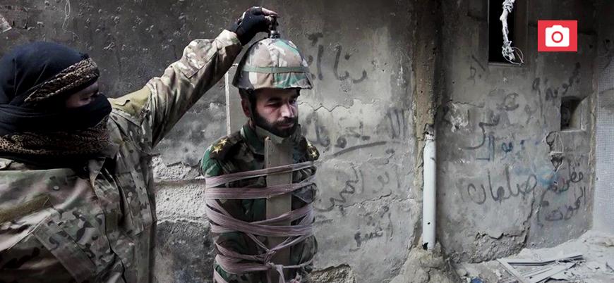 IŞİD'den Şam'da eşi görülmemiş infaz