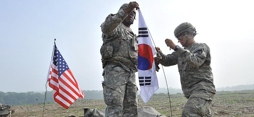 ABD askerleri Kore'den çekilmeyecek