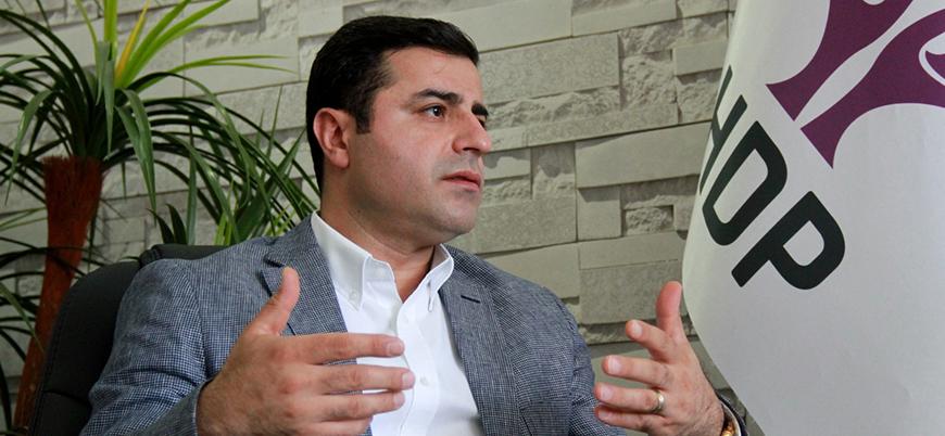 HDP'de Demirtaş ismi üzerinde fikir birliğine varıldı