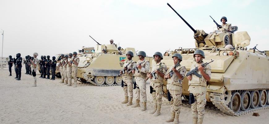 Mısır ordusundan Gazze sınırına operasyon