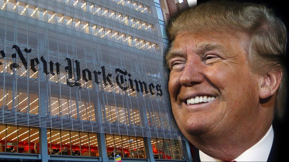 Trump, 'okumasam 20 yıl uzun yaşardım' dediği gazeteyi ziyaret etti