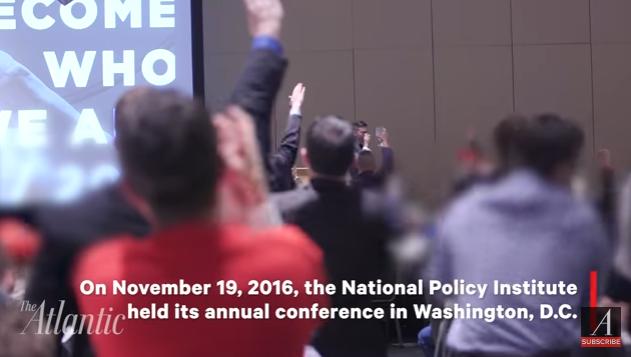 Trump'ın zaferi Nazi selamıyla kutlandı
