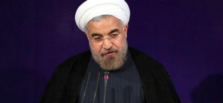 Ruhani'den Trump'ın planına tepki: Yüzyılın en alçak planı