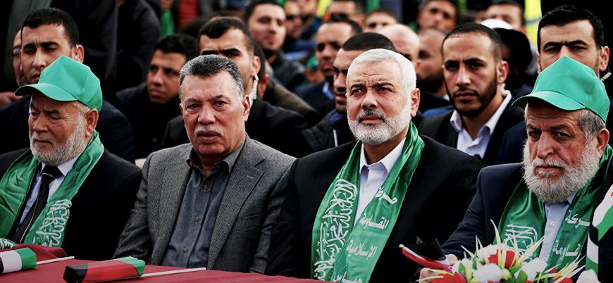 Hamas heyeti üst düzey yetkililerle görüşmek için İran'da