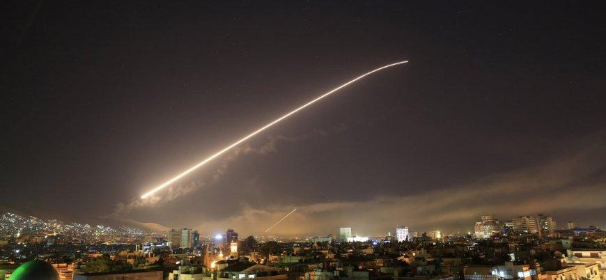'İsrail Şam'a hava saldırısı düzenledi'