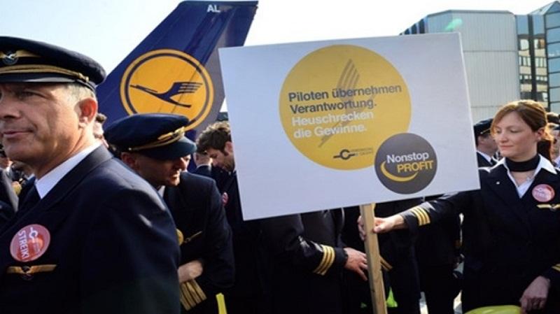 Lufthansa'da 'greve devam' kararı