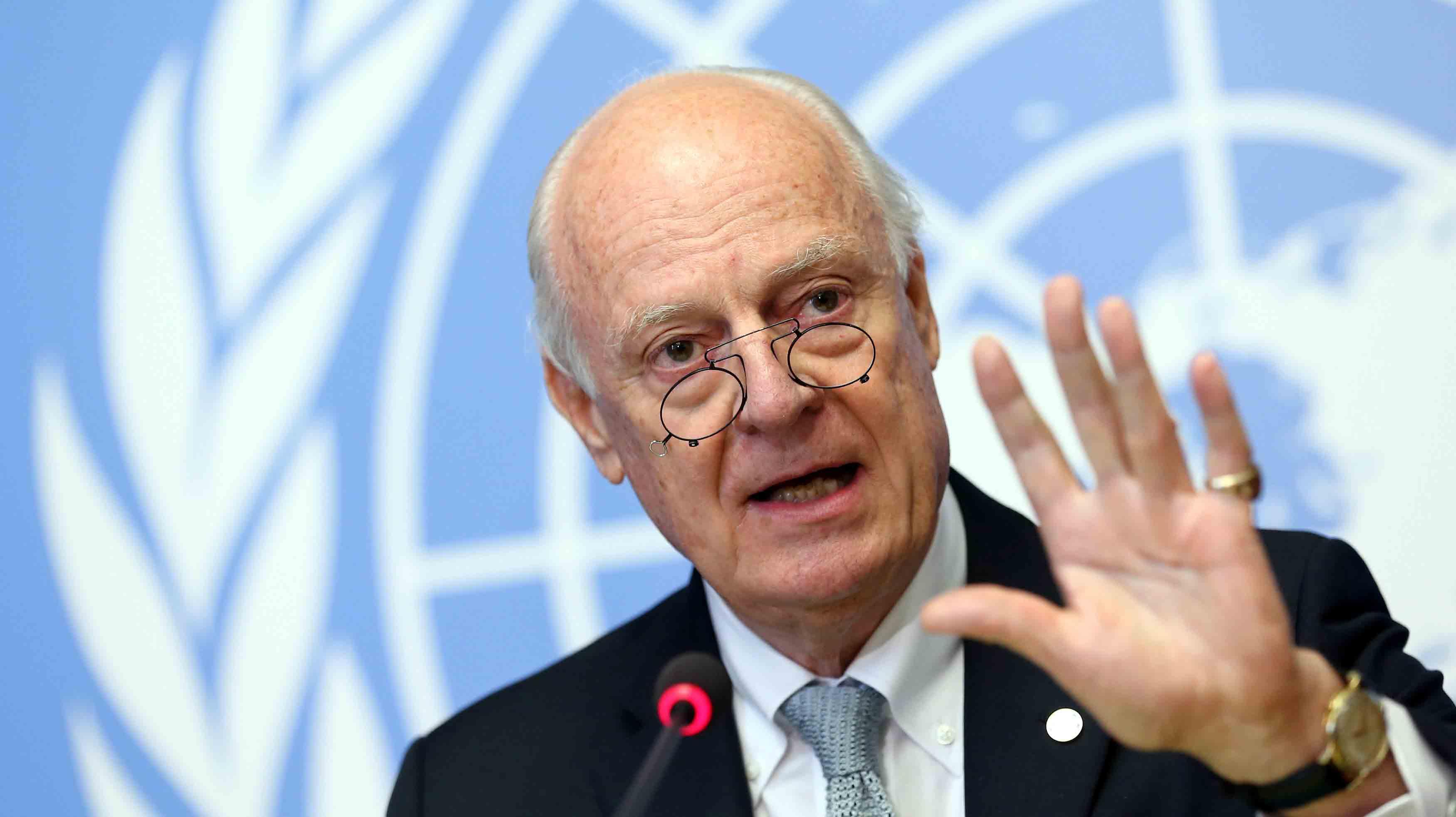 De Mistura: Halep'te katliam olabilir