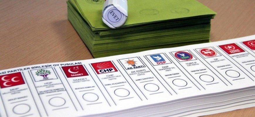 CHP'nin anketine göre oy oranları