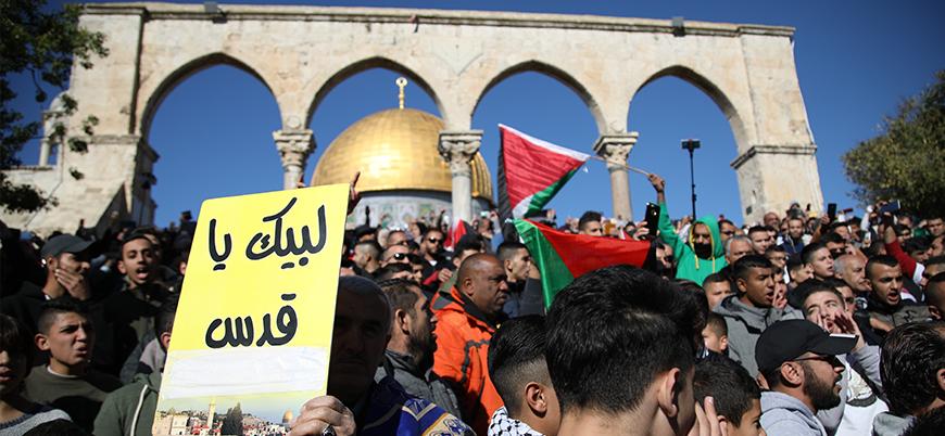 ABD'nin Kudüs hamlesi 46 ülkede protesto edilecek