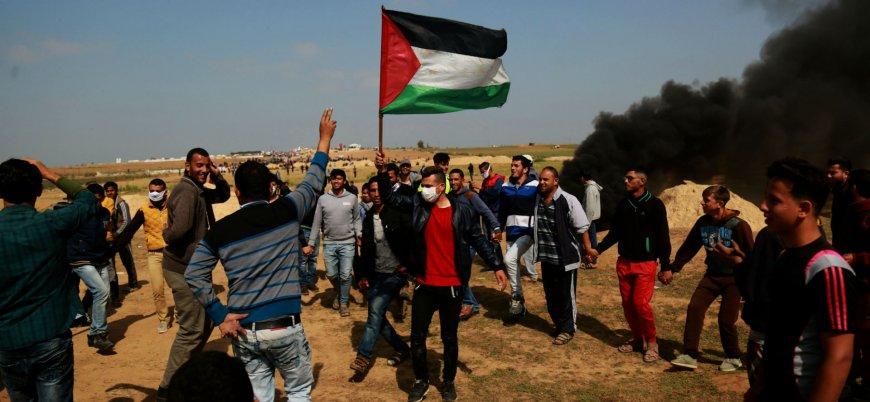 Gazze'deki gösterilerde 37 Filistinli yaşamını yitirdi