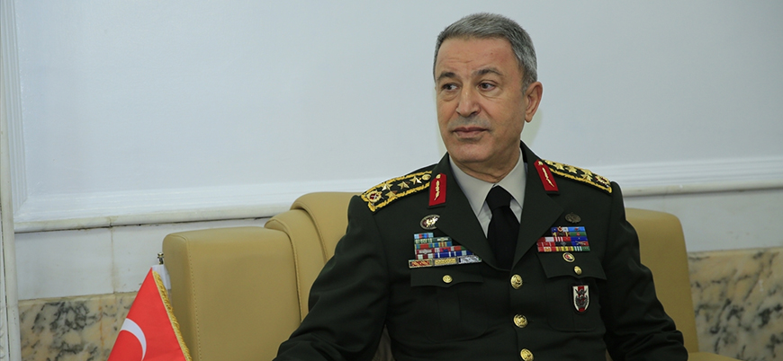 Genelkurmay Başkanı Hulusi Akar NATO toplantısında