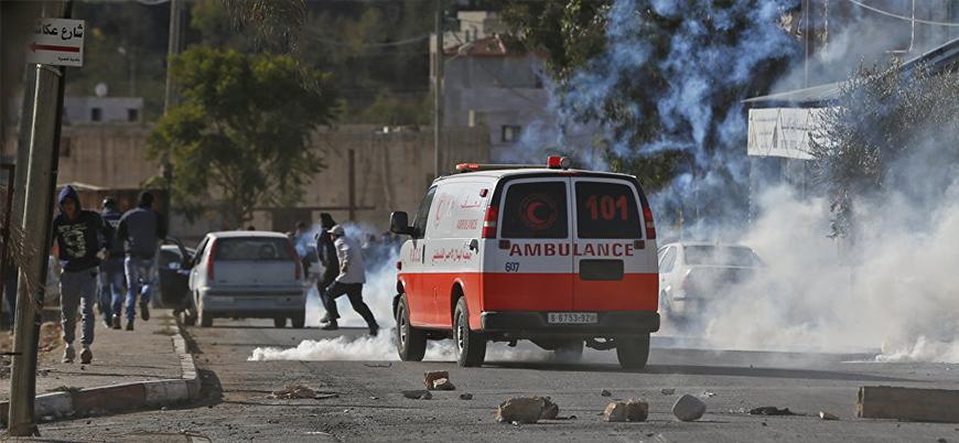 Batı Şeria'da araçlı saldırı: 5 İsrail askeri yaralandı