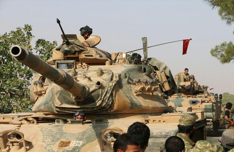 TSK: Suriye'de bir askerimiz şehit oldu