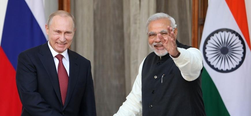 """""""ABD'nin Rusya yaptırımları Hindistan'ı silahsız bırakacak"""""""