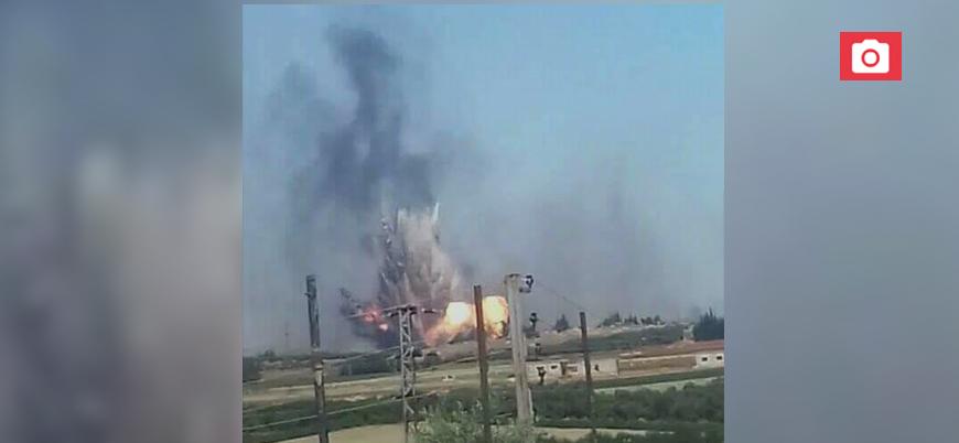 Rejim üssündeki patlamalara ilişkin ilk açıklama