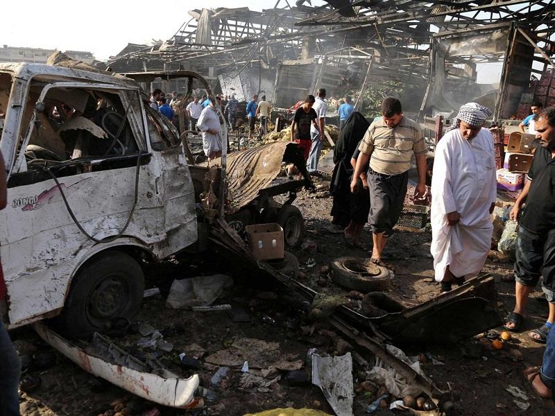 IŞİD'den 'Şii hacılara' bombalı saldırı: 80 ölü