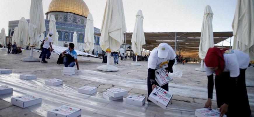 Filistinliler BAE'nin iftar yardımını reddetti