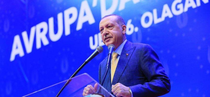 Erdoğan: Ülkemize en büyük husumeti Türkiye kökenliler gösteriyor