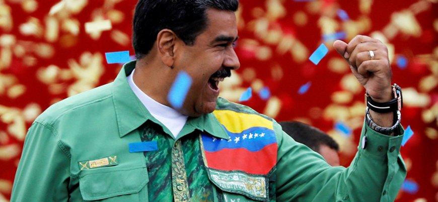 Venezuela Maduro ile 'devam' dedi