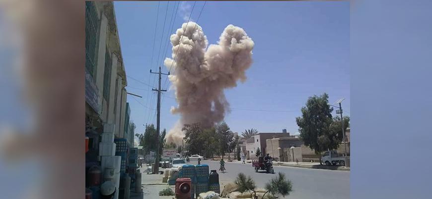 Afganistan'ın Logar ilinde ABD konvoyuna bombalı araç saldırısı