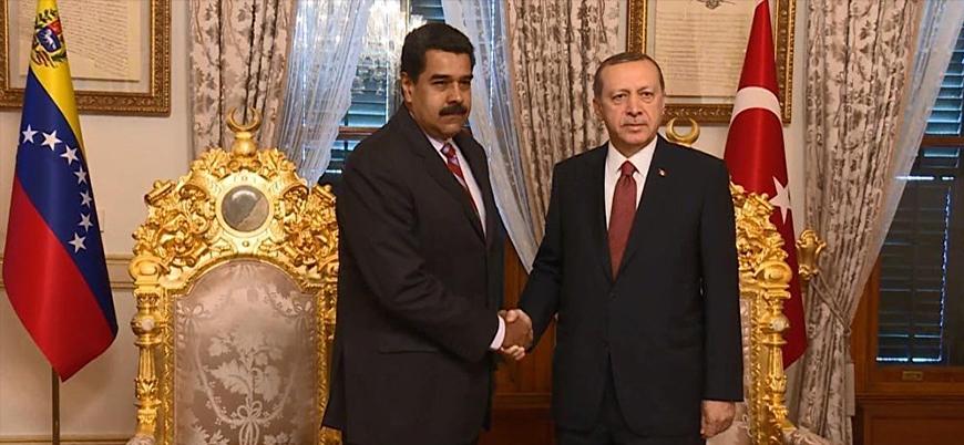 Erdoğan'dan Maduro'ya seçim tebriği