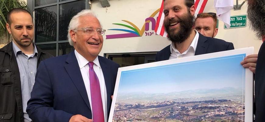 ABD'nin İsrail Büyükelçisi Mescid-i Aksa'yı 'yıktı'