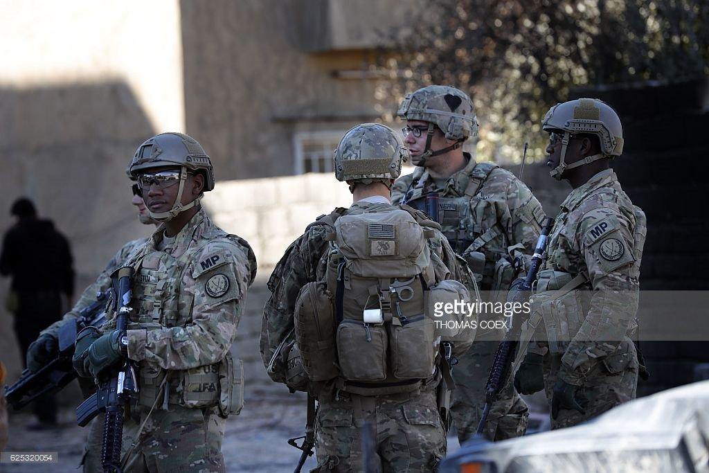 ABD askerleri Musul'da sokak çatışmalarına katılıyor