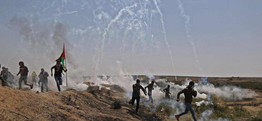 İsrail, Büyük Dönüş Yürüyüşü'nde en yeni silahlarını test etti