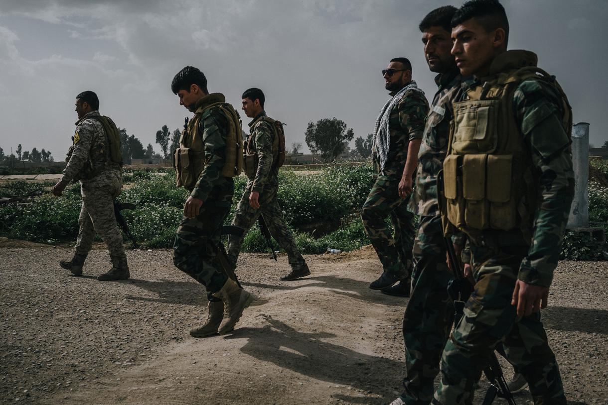 Koalisyon güçleri Haşdi Şabi'yi vurdu iddiası