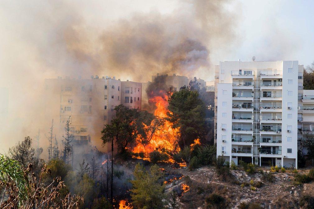 İsrail yangınların sebebini buldu: 'Terör eylemi'