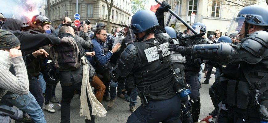 Fransa'da 150 kentte Macron karşıtı dev gösteriler